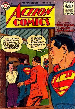 Action Comics Vol 1 213