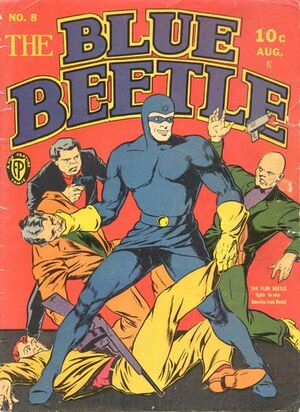 Blue Beetle (Fox) Vol 1 8