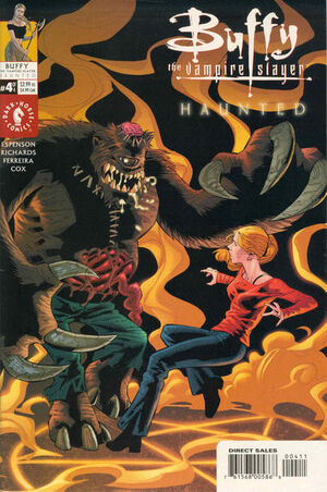 Buffy the Vampire Slayer Haunted Vol 1 4