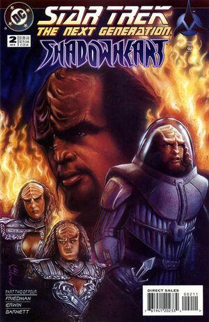 Star Trek The Next Generation Shadowheart Vol 1 2