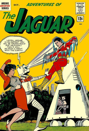 Adventures of the Jaguar Vol 1 9
