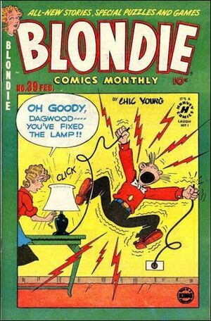 Blondie Comics Vol 1 39