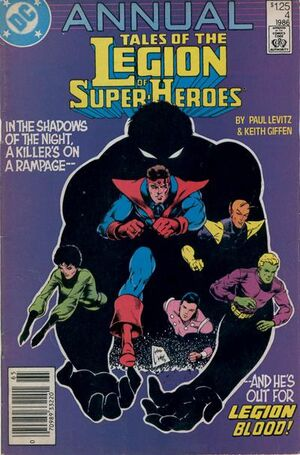 Legion of Super-Heroes Annual Vol 2 4
