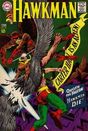 Hawkman Vol 1 22