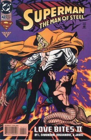 Superman Man of Steel Vol 1 42