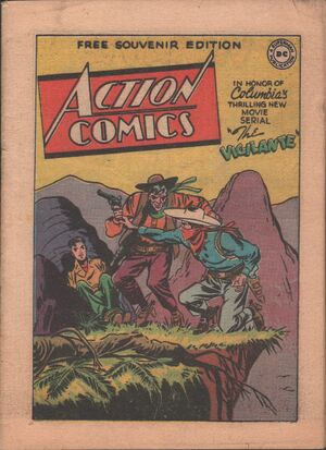 Action Comics Giveaways 1947
