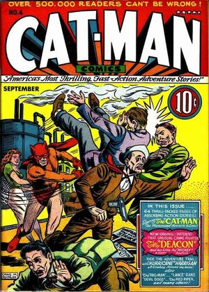Cat-Man Comics Vol 1 4