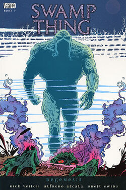 Cover for the Swamp Thing: Regenesis Trade Paperback