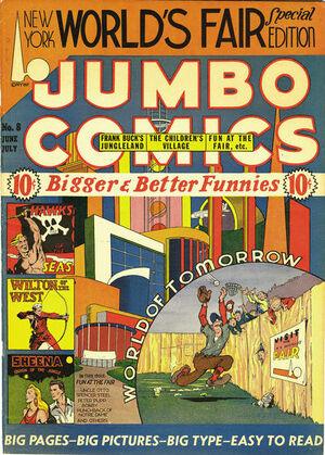 Jumbo Comics Vol 1 8