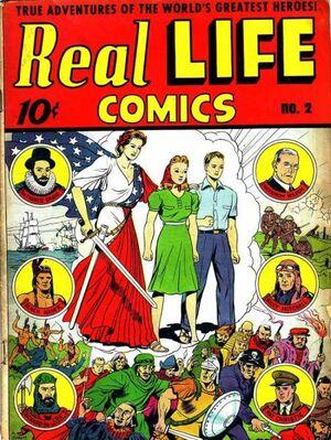 Real Life Comics Vol 1 2
