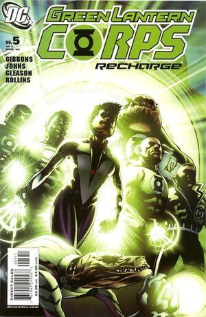 Green Lantern Corps Recharge Vol 1 5