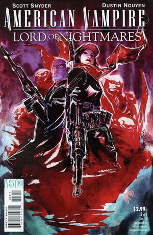 American Vampire Lord of Nightmares Vol 1 3