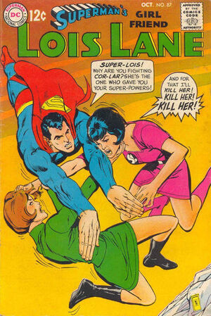 Superman's Girlfriend, Lois Lane Vol 1 87
