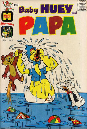 Baby Huey and Papa Vol 1 4