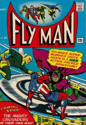 Fly Man Vol 1 33