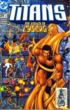 Titans (DC) Vol 1 20