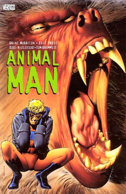 Cover for the Animal Man Vol. 1  Trade Paperback