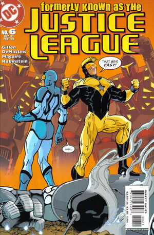 Formerly Known as the Justice League Vol 1 6