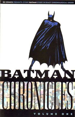 Cover for the Batman Chronicles Vol 2 1 Trade Paperback