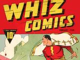 Whiz Comics Vol 1