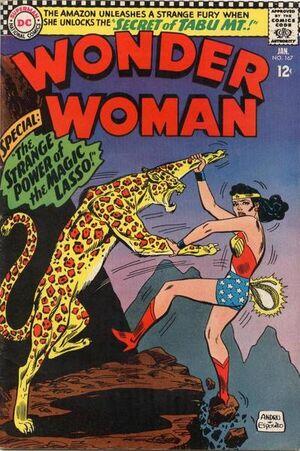 Wonder Woman Vol 1 167
