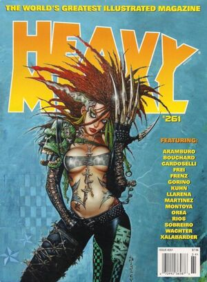Heavy Metal Vol 1 261