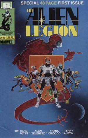 Alien Legion Vol 1 1