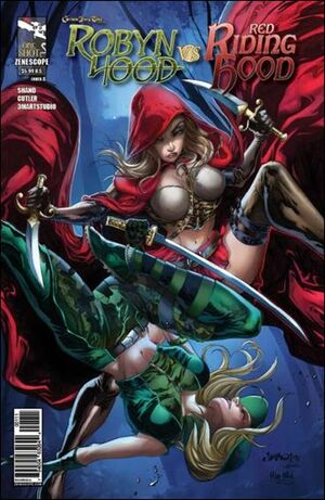 Grimm Fairy Tales Presents Robyn Hood Verses Red Riding Hood Vol 1 1
