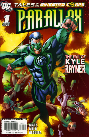 Tales of the Sinestro Corps Parallax Vol 1 1