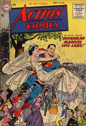 Action Comics Vol 1 206