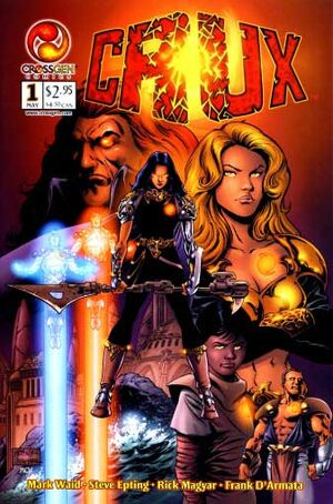 Crux first issue cover