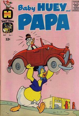 Baby Huey and Papa Vol 1 1