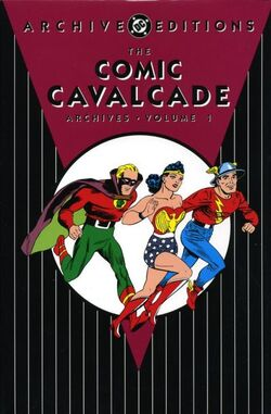 Cover for the Comic Cavalcade Archives Vol 1 1 Trade Paperback