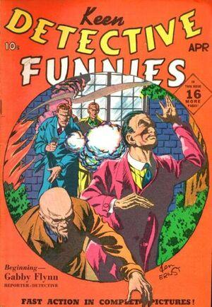 Keen Detective Funnies Vol 1 8