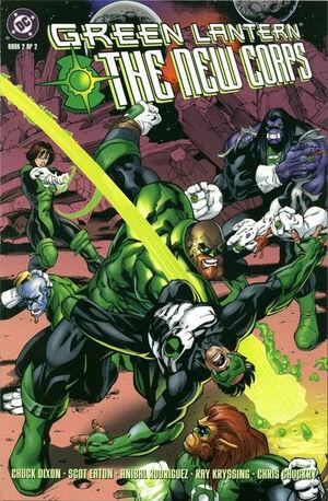 Green Lantern The New Corps Vol 1 2