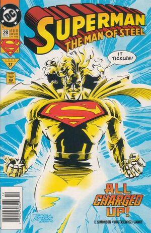 Superman Man of Steel Vol 1 28