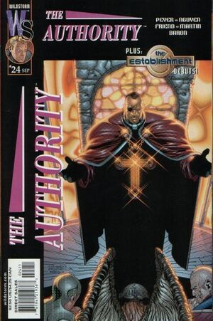 Cover for The Authority #24 (2001)