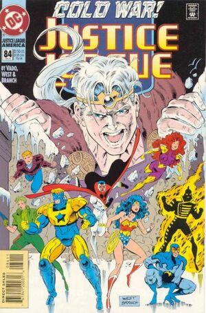 Justice League America Vol 1 84