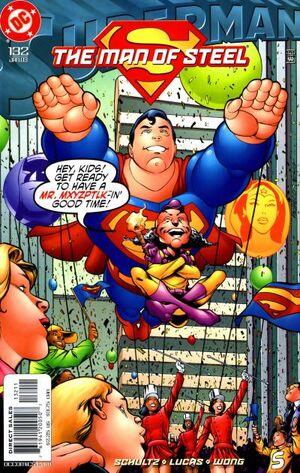 Superman Man of Steel Vol 1 132