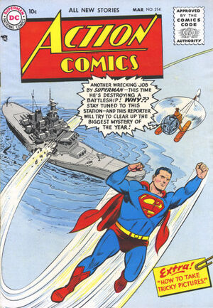 Action Comics Vol 1 214