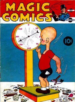 Magic Comics Vol 1 4