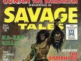 Savage Tales Vol 1