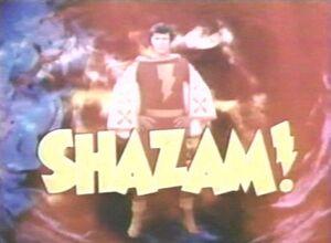 Shazam title card