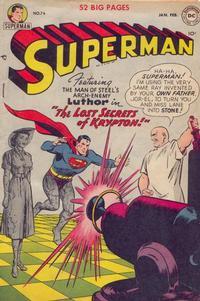 Superman Vol 1 74
