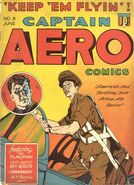 Captain Aero Comics Vol 1 6