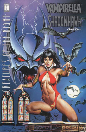 Cover for Creatures of the Night #1 (1995)