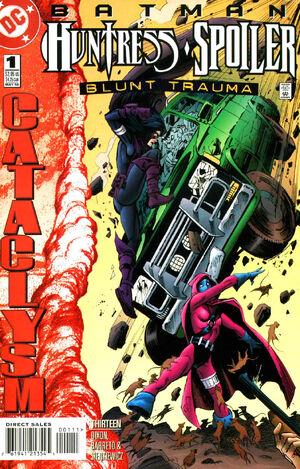 Batman Huntress Spoiler Blunt Trauma Vol 1 1