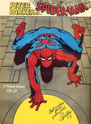 FantasticSummerSpecial 1968 Pin-Up Spider-Man