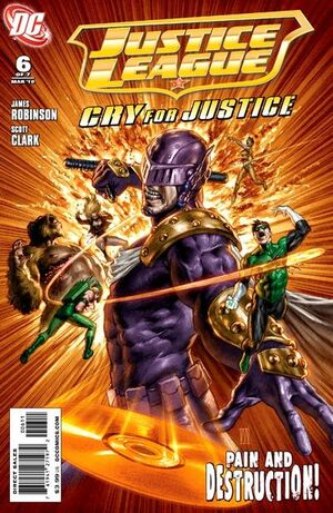 Justice League Cry for Justice Vol 1 6