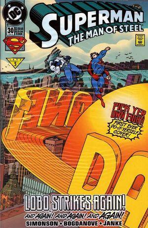 Superman Man of Steel Vol 1 30